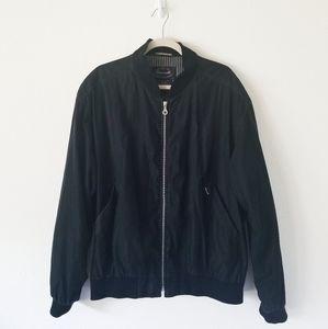 Faconnable Albert Goldberg Black Bomber Dad Jacket